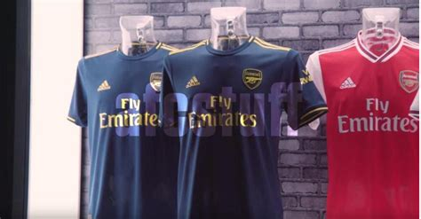 Arsenal 2019/20 third kit: Leaked images show off classy