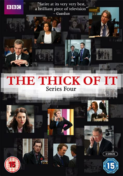 The Thick of It - Series 4 DVD | Zavvi