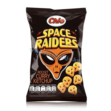 Chio Chips Space Raiders Rocket Curry 40 g