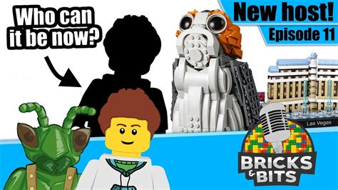 Who's our new host? And a LEGO Star Wars UCS Porg