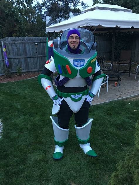 Buzz Lightyear Costume Goes to Infinity and Beyond