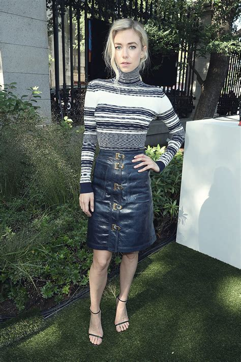 Vanessa Kirby at the Tory Burch S/S2018 show - Leather
