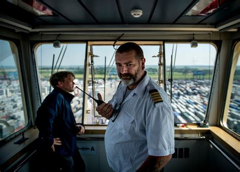 Aboard a Cargo Colossus - The New York Times