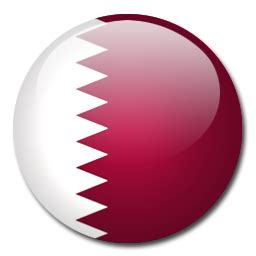 Qatar Flag Icon   Download Rounded World Flags icons