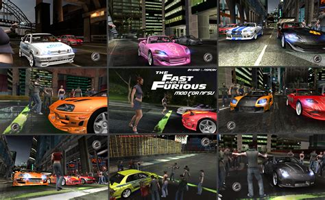 Need For Speed Underground The Fast and the Furious Mod