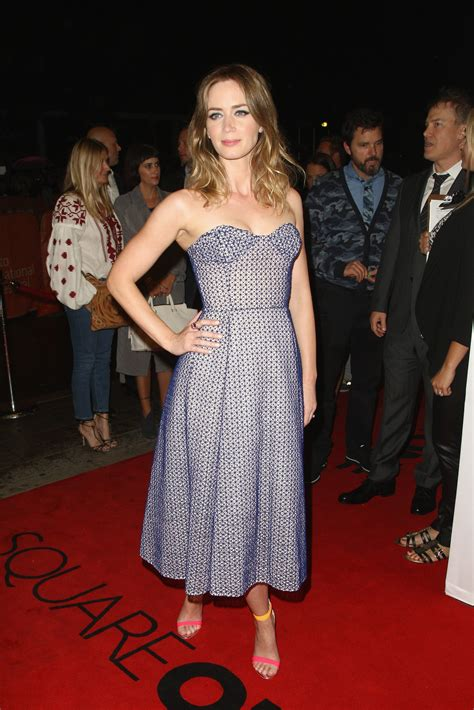 Fugs and Fabs: Emily Blunt at the Toronto Film Festival