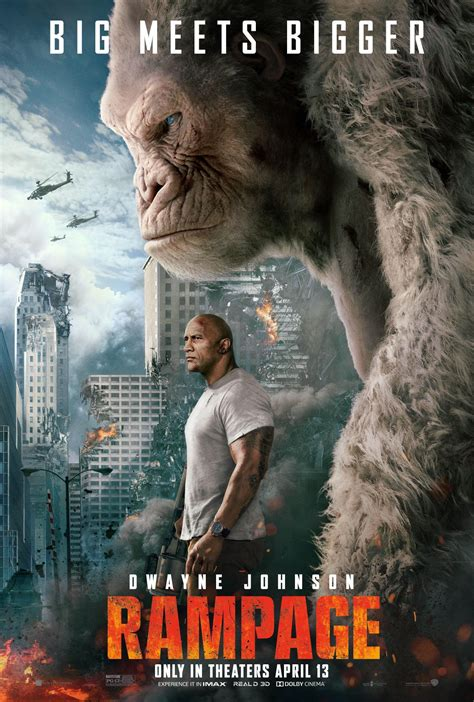 Rampage Review: Dwayne Johnson Upstaged by a Giant Gorilla