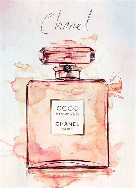 Stylish New Obsession: Watercolor in 2020 | Coco chanel