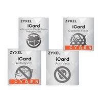 ZyXEL E-iCard 1-year Content Filtering/Anti-Spam/Anti