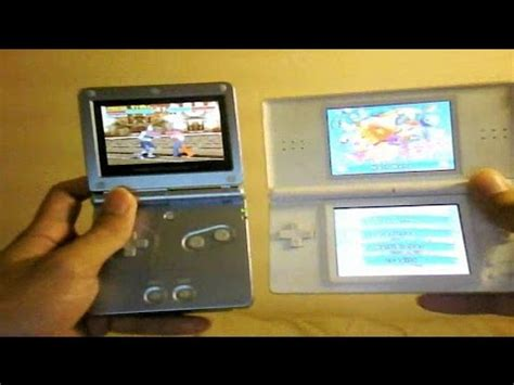 Nintendo DS Lite vs Game Boy Advance SP Comparison and
