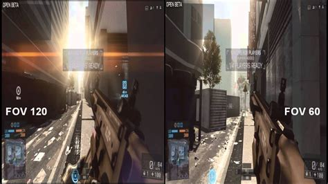 battlefield 4 field of view (FOV) bug - YouTube