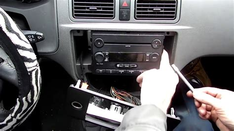 Ford Focus Radio Removal - YouTube