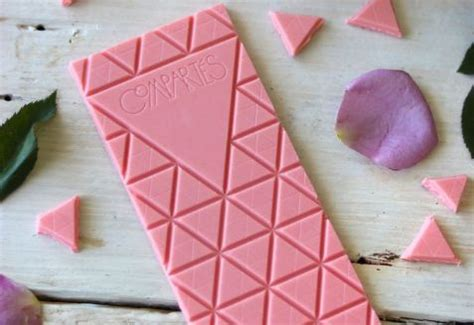 This New Pink Chocolate Bar Is Infused With Rose Wine!