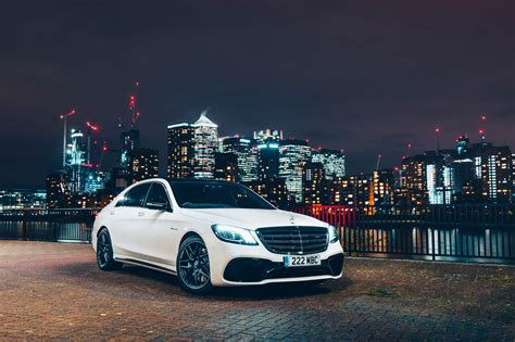 Wallpaper Mercedes-AMG S 63 4MATIC+, 2018, 4K, Automotive