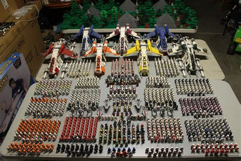 My New (But Severely Late) LEGO Clone / Republic Army Show