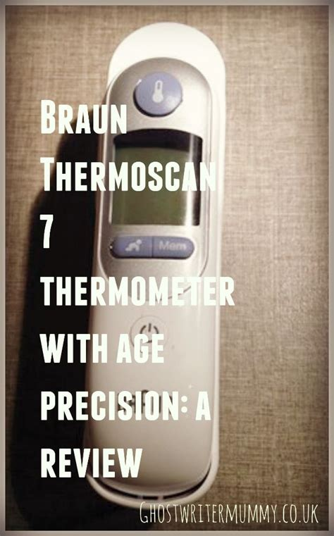 Braun Thermoscan 7 thermometer: a review