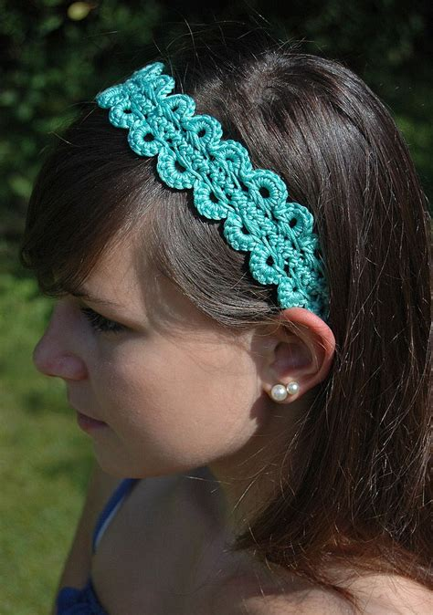Update Your Wardrobe with these Pretty Crochet Headbands