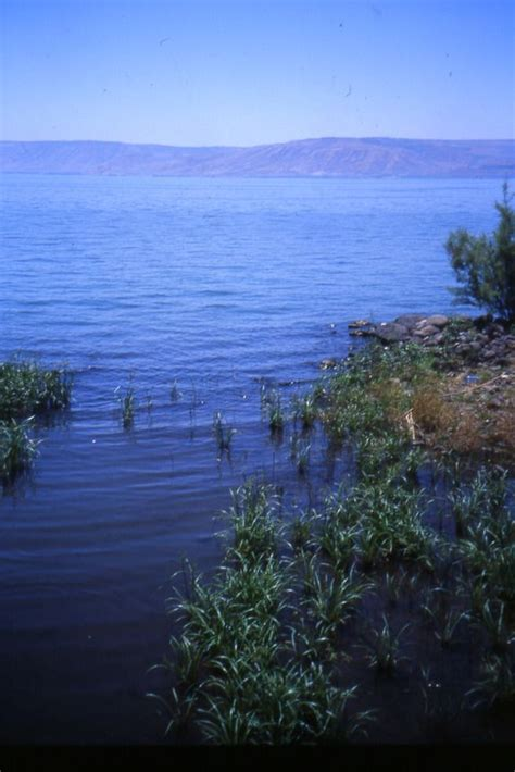 Beautiful Sea of Galilee - http://www