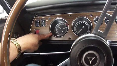 Muscle Car 1970 Dodge Charger R/T SE Interior Tour - YouTube