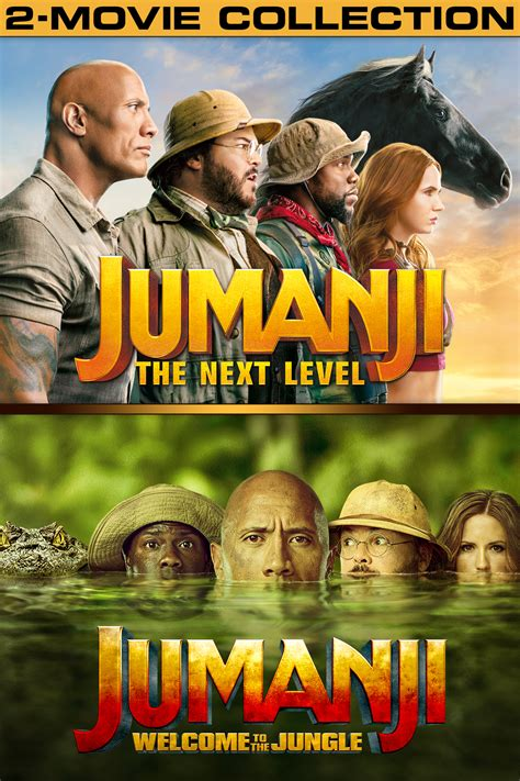 Jumanji 2-Movie Collection now available On Demand!