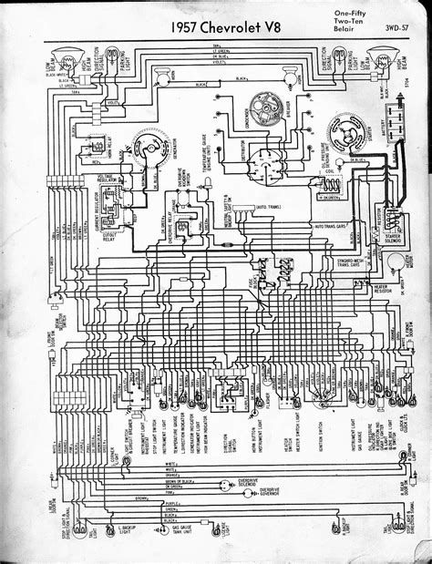 57 - 65 Chevy Wiring Diagrams