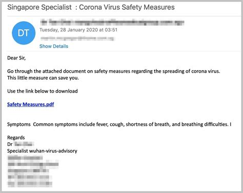 Watch Out for Coronavirus Phishing Scams | WIRED
