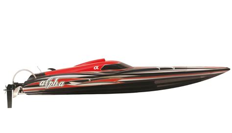 Amewi RC Rennboot ALPHA Brushless 4-6S Rot 1060mm 26053
