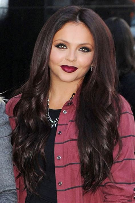 Jesy Nelson Wavy Medium Brown Hairstyle | Steal Her Style