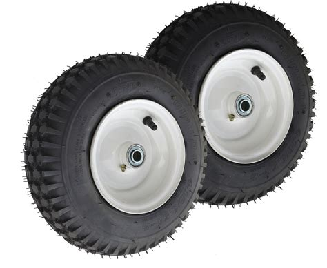 410/350-6 Stud Tire Assembly 2-Pack - GoPowerSports