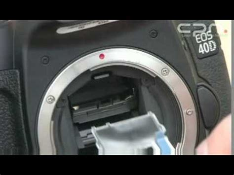 Canon CPN - Changing the focus screen EOS 40D, 50D, 5D and