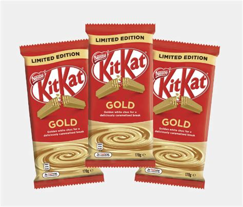 Kit Kat Launches 'Gold' Bars That Chocoholics Are Bound To