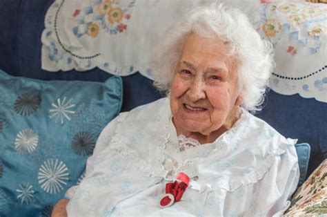 109-year-old woman reveals secret to long life is eating