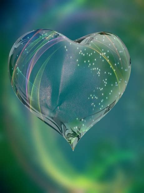 Glass Heart Free Stock Photo - Public Domain Pictures