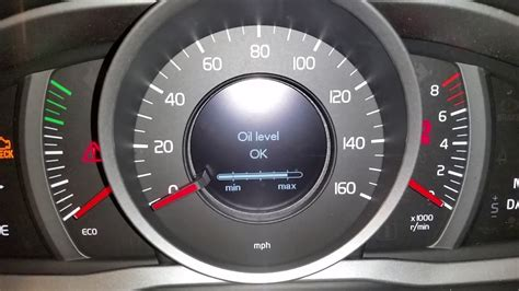 2010-2017 Volvo XC60 SUV - How To Check Oil Level - Driver