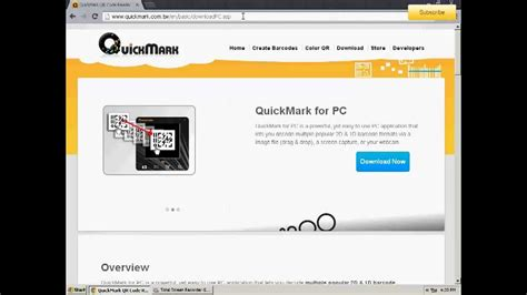 QR Code Reader For PC - YouTube