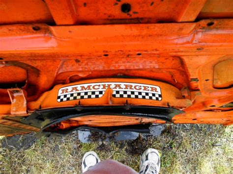 FOR SALE - 1970 Superbee/Coronet R/T Ram Charger Hood with