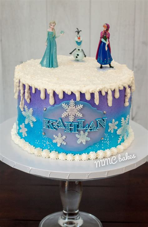 Frozen Birthday Cake – MMC Bakes