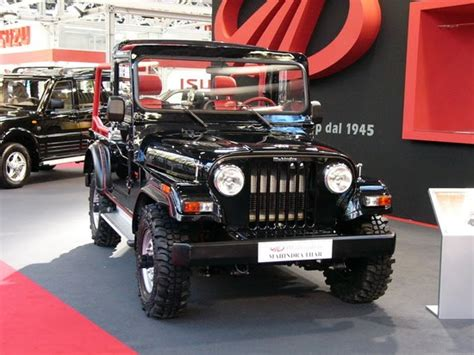 Mahindra Thar Jeep Price, Review, Features, Specifications