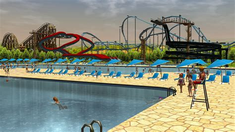 It's time to get soaked and wild as RollerCoaster Tycoon 3