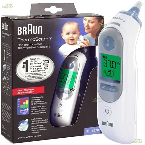 Braun ThermoScan 7 IRT6520 Baby/Adult Professional Digital
