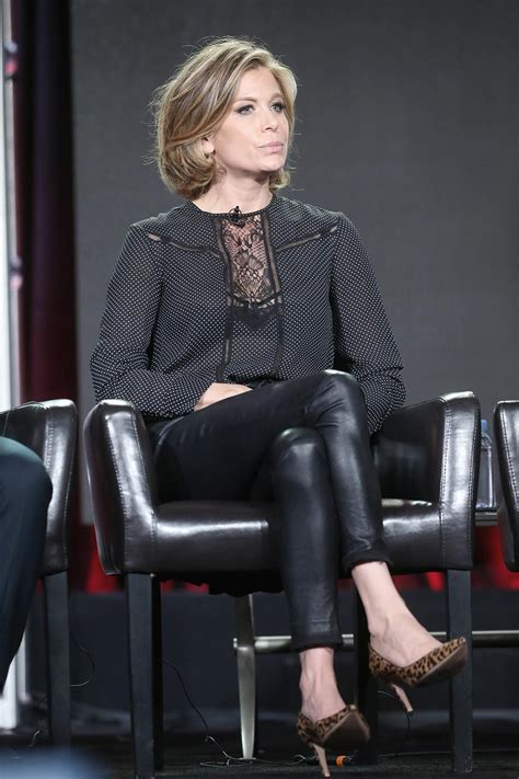 Sonya Walger attends TCA Winter Press Tour - Leather