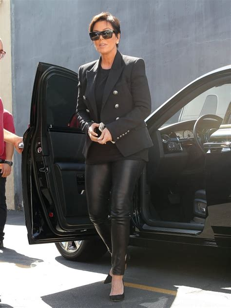 Kris Jenner was spotted at Emilio's Trattoria in Encino