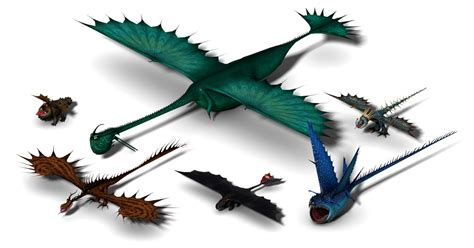 Downloadable dragon models from Wild Skies ~ Berk's Grapevine