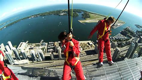EdgeWalk at the CN Tower - YouTube