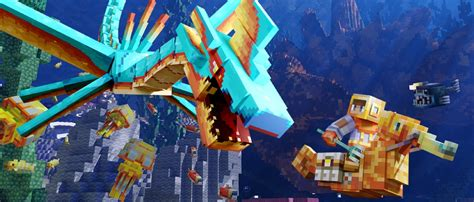 Minecraft players can get a free Deep Sea Mash-Up Pack