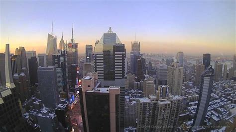 New York City Time Lapse - Snow Storm February 2014 - YouTube